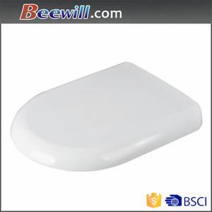 Wholesale intelligent toilet seat: D Shape Soft Close Toilet Seat for European Market