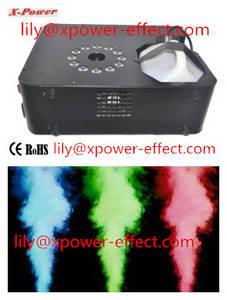 Wholesale pcs: 12pcs*3w LED Vertical Smoke Machine