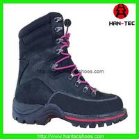 Army Boots and Fashion and Genuine Leather High Cut for Women and Men Shoes From China Factory