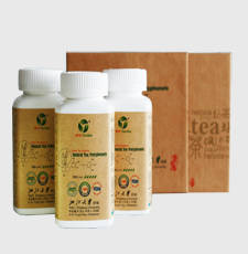 Wholesale remove radioactivity system: Tea Polyphenols Tablets Longjing Style Exporting Special Design  Familiy Packing