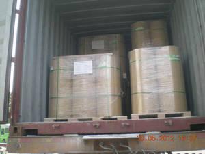 Wholesale hard pvc sheet: Orange Hard Plastic PVC Sheet for Medicine Packing