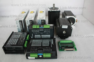 Wholesale www.126.com: 3 Axis NEMA34 9.8N.M(1400oz.In)/5.6A Stepper Motor & Driver & Power for CNC Kit   for 3D Printers