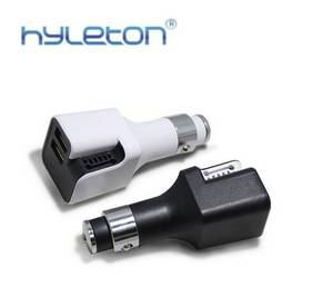 Wholesale usb car charger: Universal USB Car Charger, 5V 2.4A*2 Dual Port Intelligent Car-charger Adapter
