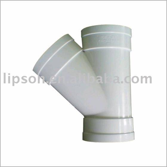 Pvc fitting y branch id product details view