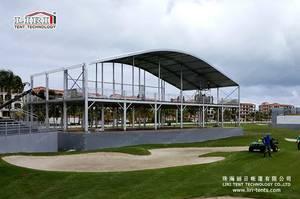 Wholesale lounge: Luxury Outdoor Arcum Roof VIP Lounge Double Decker Tent for 2016 Puerto Rico PGA Golf Event