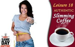 Wholesale weight loss: Leisure 18 Slimming Coffee Weight Loss