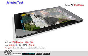 Wholesale 7inch mid: 9.7inch IPS Screen Dual Core MID