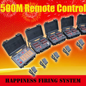Wholesale fireworks: 96 Cues Salvo&Sequential Wireless Remote Fireworks Firing System