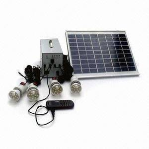 Wholesale Solar Energy Systems: 5W Solar Home Lighting System