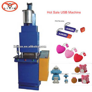 Wholesale indonesia mobile phones: High Quality PVC Automatic Liquid Injection Machine for USB Covers