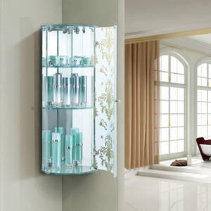 Wholesale mirror cabinet: 2015 Wholesale Cheap Triangle Bathroom Mirrored Corner Cabinet