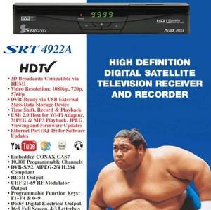 Wholesale fta receiver: HDMI Full HD Satellite Receiver Strong 4922A