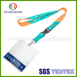 Wholesale Badge Holder & Accessories: China Manufacturer Promotional Soft Plastic Card Holder Lanyard