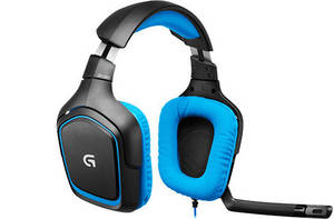 Wholesale earring: Logitech G430 SURROUND SOUND GAMING HEADSET HEADPHONE EARPHONE
