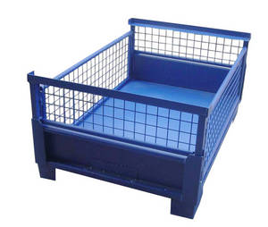 Wholesale china container: Made in China Storage Metal Mesh Container