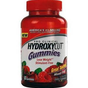Wholesale weight loss: Hydroxycut Pro Clinical Weight Loss Gummies Mixed Fruit 60 Count