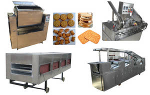 Wholesale roller for cracker: 400kg/H Industrial Biscuit Product Line Biscuit Production Line
