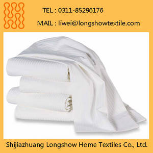 Wholesale wholesale sheet sets: Cheap Stripe Bed Sheets for Hotel