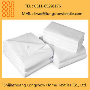Wholesale cotton bed linen sets: 5 Star Hotel Bed Sheets