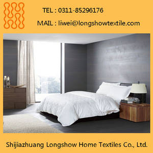 Wholesale bed sheets twin: Cheap 100% Cotton Duvet Cover Set for Hotel