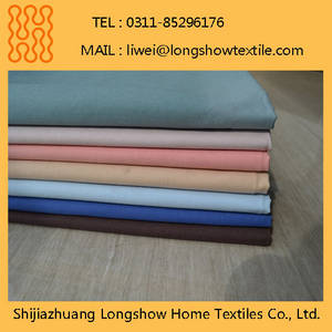 Wholesale pvc soft sheet: Super Soft 100% Polyester Fabric for Hotel