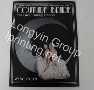 Wholesale magazine printing: Fashion Picture Album,Glossy Magazine Printing,Printing in China