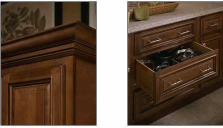 Chocolate glaze maple kitchen cabinets id 1983675 product for Chocolate maple glaze kitchen cabinets
