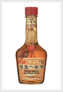 Wholesale ginseng liquor: Alcohol Drink Korean Ginseng Wine