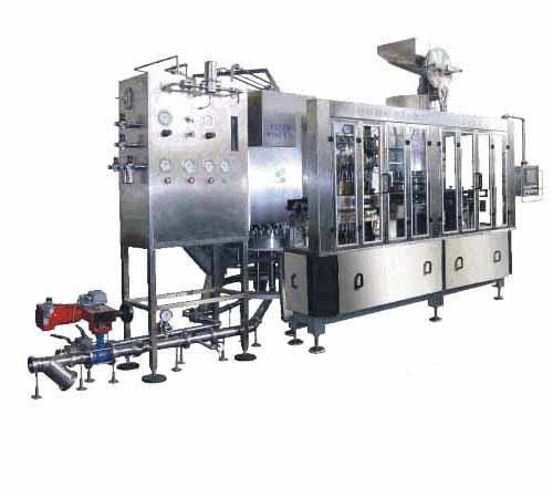 bedding sets: Sell 2-in-1 filler crown capper monobloc beer filling bottling machine