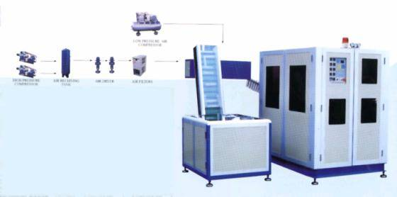Plastic Injection Machinery: Sell automatic pet bottle blow molding machine