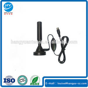 Wholesale satellite antenna: UHF VHF Indoor Active 18db Magnetic DVB T Car Satellite Digital TV Antenna