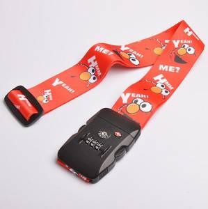 Wholesale fashion belt: Fashion Candy Color Luggage Belt with TSA Lock Luggage Belt/ Adjustable Luggage Strap