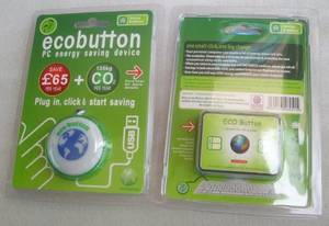 Wholesale USB Gadgets: USB Eco Button USB Green Button