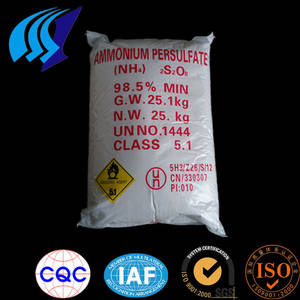 Wholesale Persulfate: Manufacturer Price of 98.5% Min Ammonium Persulfate/Ammonium Persulphate Importer CAS NO.7727-54-0