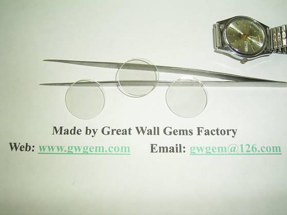 watch: Sell sapphire watch lens