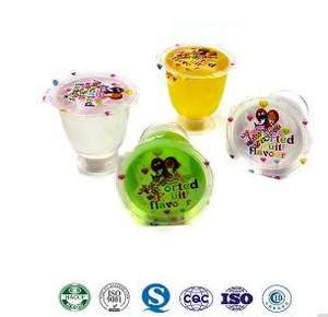Wholesale jelly bag: 60g Assorted Fruit Wine Cup Jelly