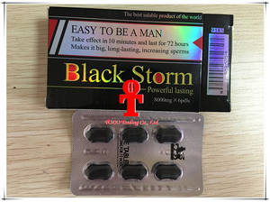 Wholesale natur product: Black Storm Natural Male Enhancement Pills Sex Products