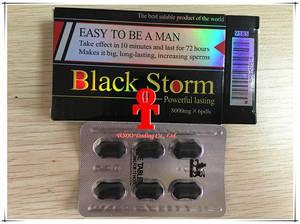 Wholesale male enhancement products: Black Storm Natural Male Enhancement Pills Sex Products