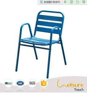 Wholesale Dining Room Furniture: Fashion Powder Coated Aluminum Chair