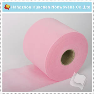 Wholesale paper tablecloth: China Factory PP Nonwoven Fabric Baby Diapers Fabric