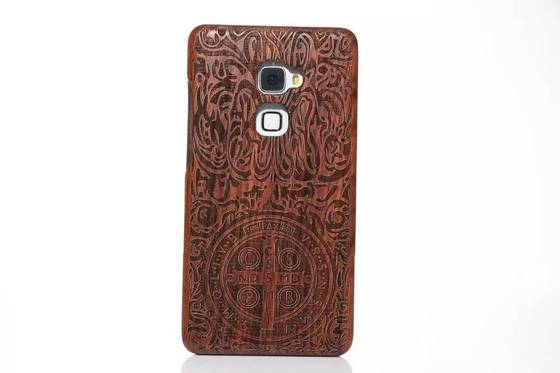 cherry mobile: Sell wood  mobile phone case