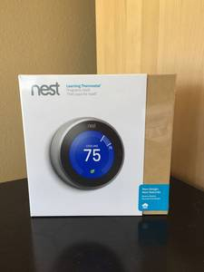 Wholesale HVAC Systems & Parts: NEST Learning Thermostat 3rd Generation T3007ES