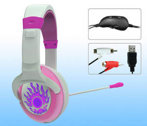 Wholesale headphone: Gaming Headphone for XBOX360/PS3/PC