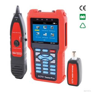 Wholesale lcd cctv display: 3.5 Inch LCD Display Digital CCTV Tester with Fiber Optical Tester NF-707