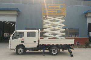 Wholesale online shopping india: Towable Telescopic Vehicle Mounted Boom Lift