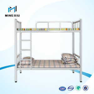 Wholesale metal bed: Chinese Manufacturer High Quality Metal Bunk Bed for Sale / Double Size Bunk Bed