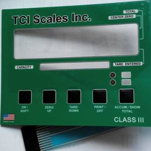 Wholesale membrane switches: Tactile Membrane Switch with LED Backlight and Metal Domes, TCI276