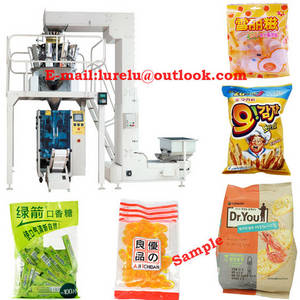 Wholesale candy packing bag: Big Bags Snacks/Biscuit/Chips/Candy/Packaging Machine Automatic Packing Machinery Packer Upgraded !!
