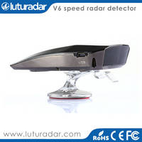 Sell Best Police Radar Detector V6 with Early Warning LED Display