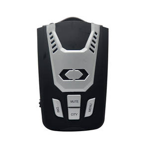 Wholesale russia: Russian Voice and LED Icons Alert Car Speed Radar Laser Detector with Russia Speed Camera GPS